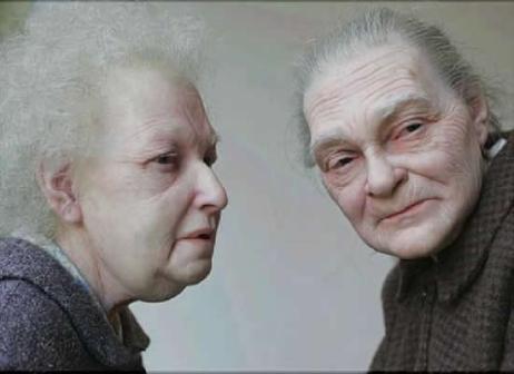 ron mueck - idosos em esculturas
