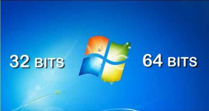 Windows é 32 ou 64 bits?