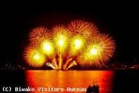 びわ湖花火大会は有料観覧席をおすすめします 場所 チケットの購入