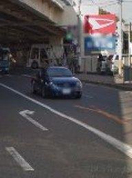 大山崎地区R171入口目印 ダイハツの看板