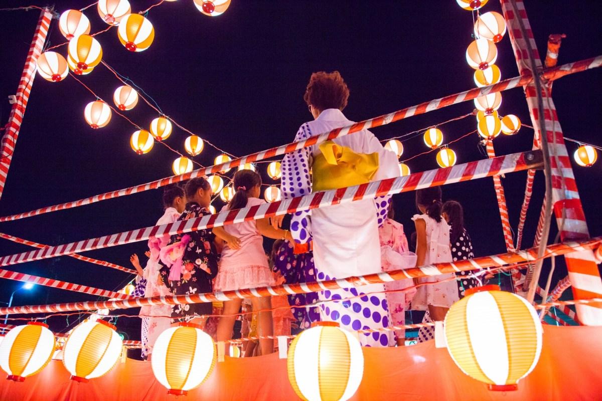 盆踊り大会のアナウンスのポイントと例文 役になりきって!!