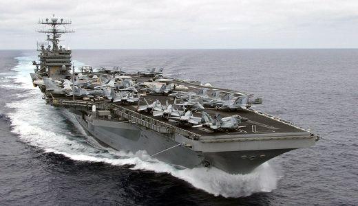 カールビンソン(空母)の大きさや強さが気になる!船内施設の豪華さと現在地を知る方法!