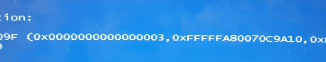 Blue Screen of the Death