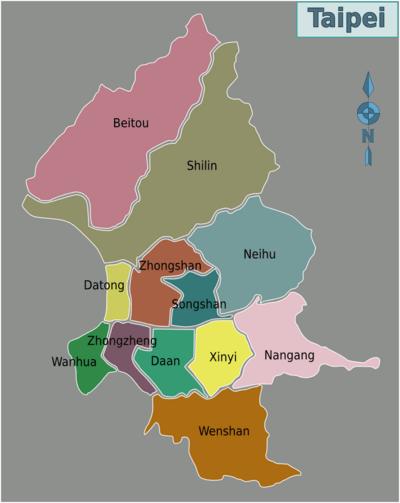 taipei districts