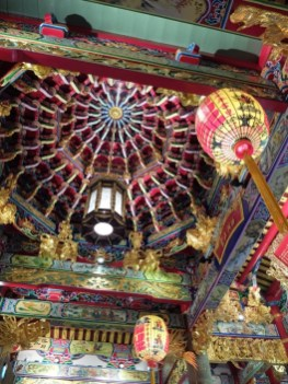 Plafond du temple