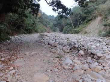 La rivière asséchée