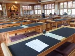 La salle de calligraphie