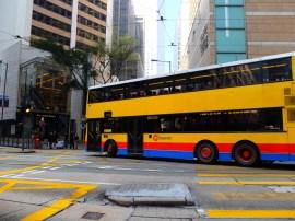 Bus à étage anglais.