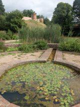 Vue sur le chateau depuis les jardins