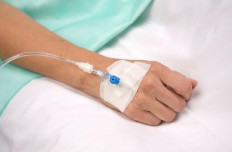 fijación de la venoclisis 2