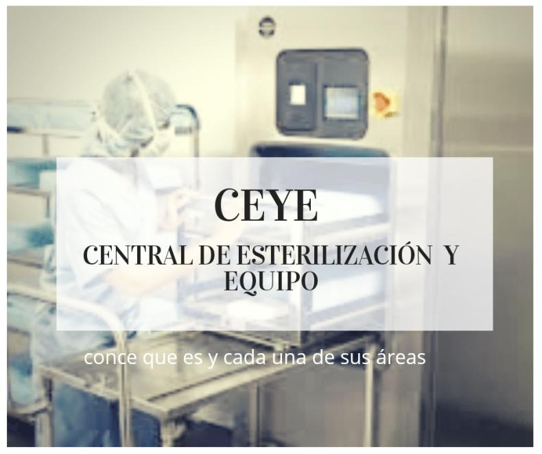 CEyE Central de Esterilización Y Equipos