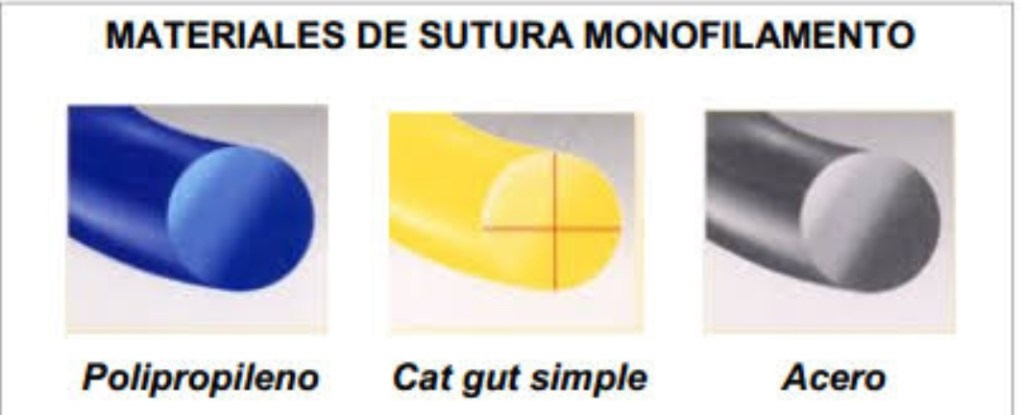 sutura Monofilamento