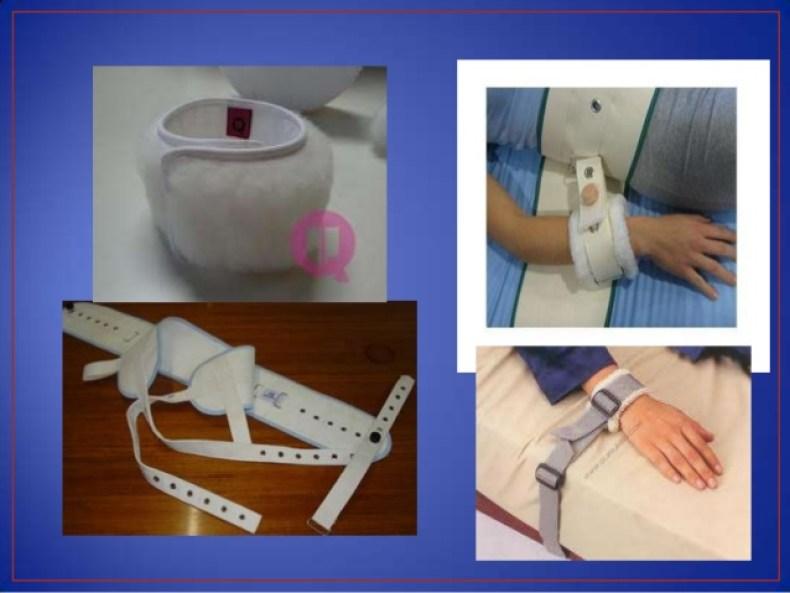 Contención Física o Inmovilización del Paciente