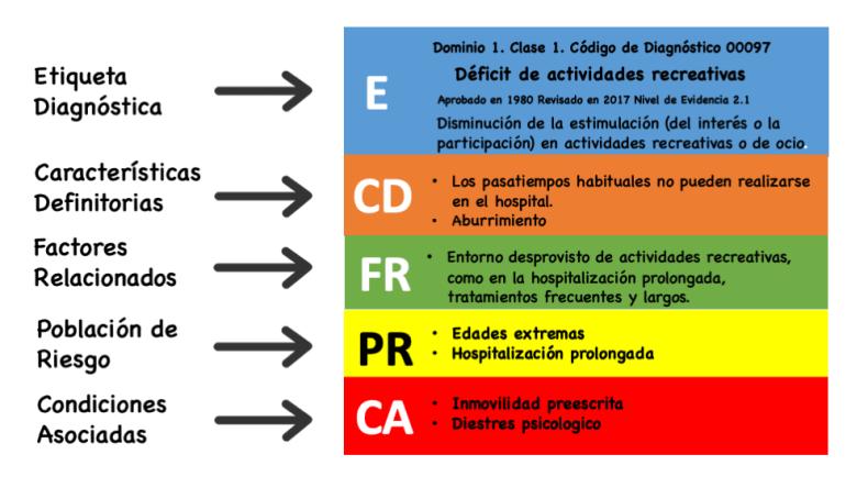 estructura del diagnostico de enfermeria 2018 2020