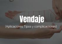 Vendaje, aplicaciones, tipos y complicaciones
