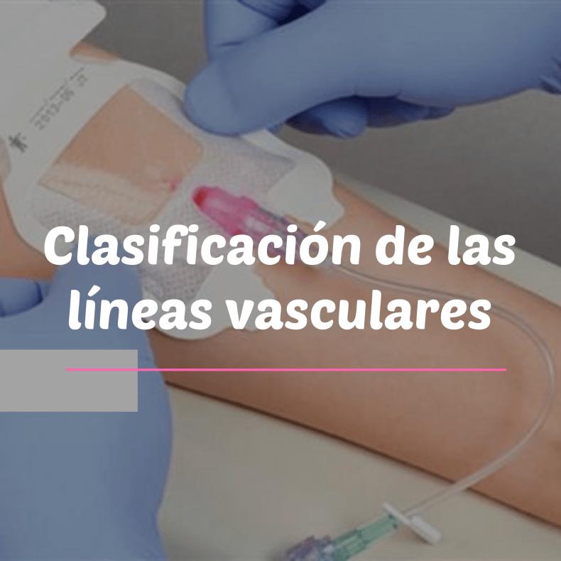 Lineas vasculares clasificación