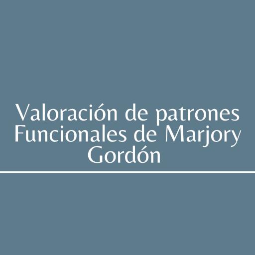 PATRONES FUNCIONALES DE MARJORY GORDON