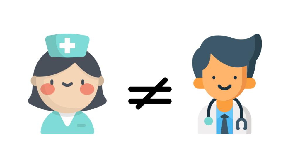 diagnóstico enfermero y médico