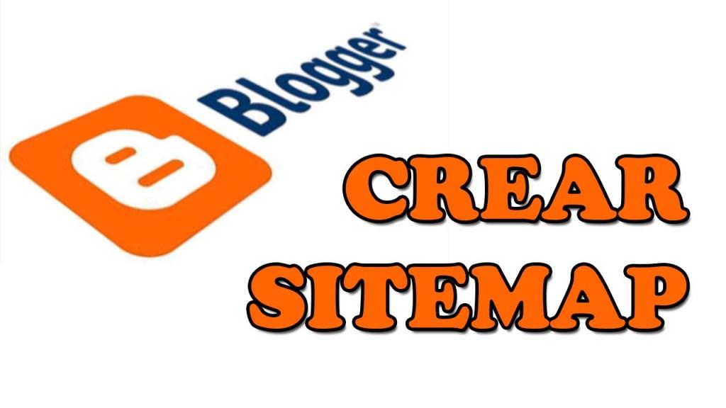 como crear un sitemap en blogger