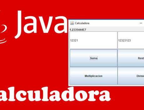 Calculadora básica de cuatro operaciones en Java