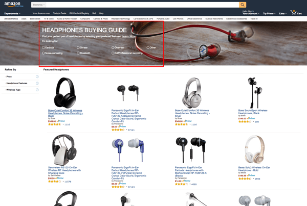 amazon buying guide headphones