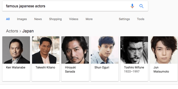 knowledge graph slider