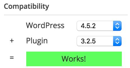 Contoh yang kompatibel dengan WordPress 4.5.2