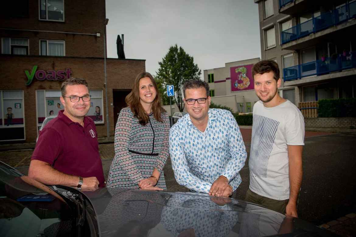 The Yoast Board: Michiel, Marieke, Joost and Omar