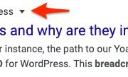 What are breadcrumbs? Why are they important for SEO?