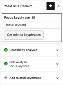 How to choose the right focus keyword