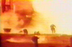 Explosión en Baykonur