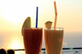 Sunset drinks