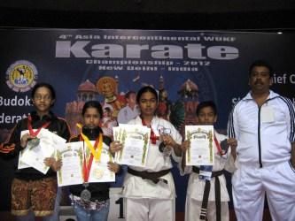karate champions