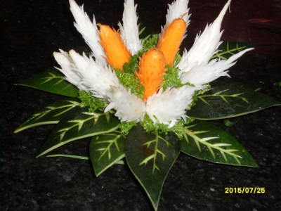 vegetable carving2