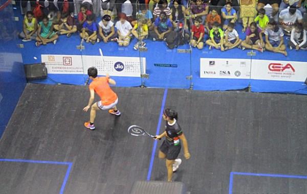 Asian Squash championship 2017 chennai
