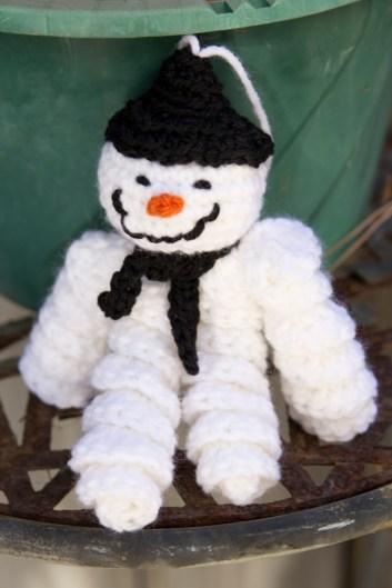 Snowman Crochet 2015