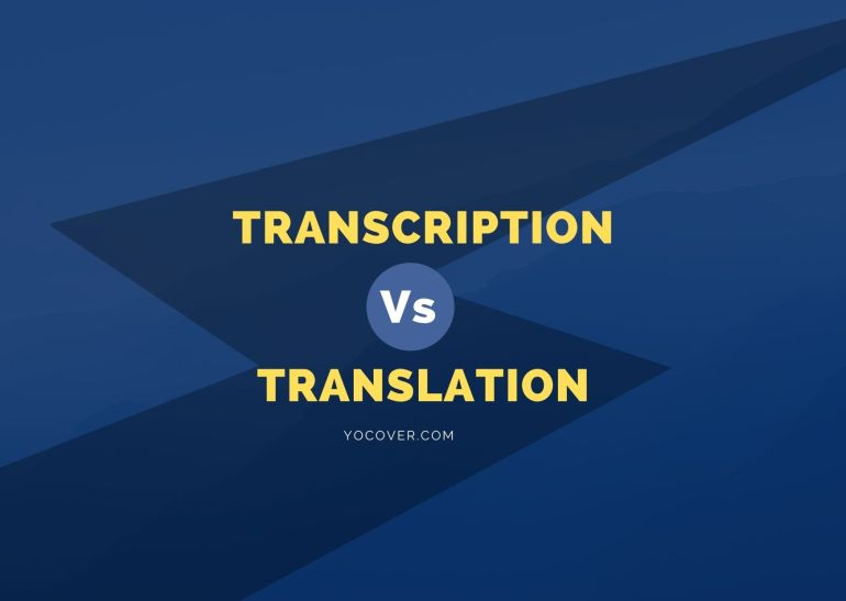 Transcription v Translation