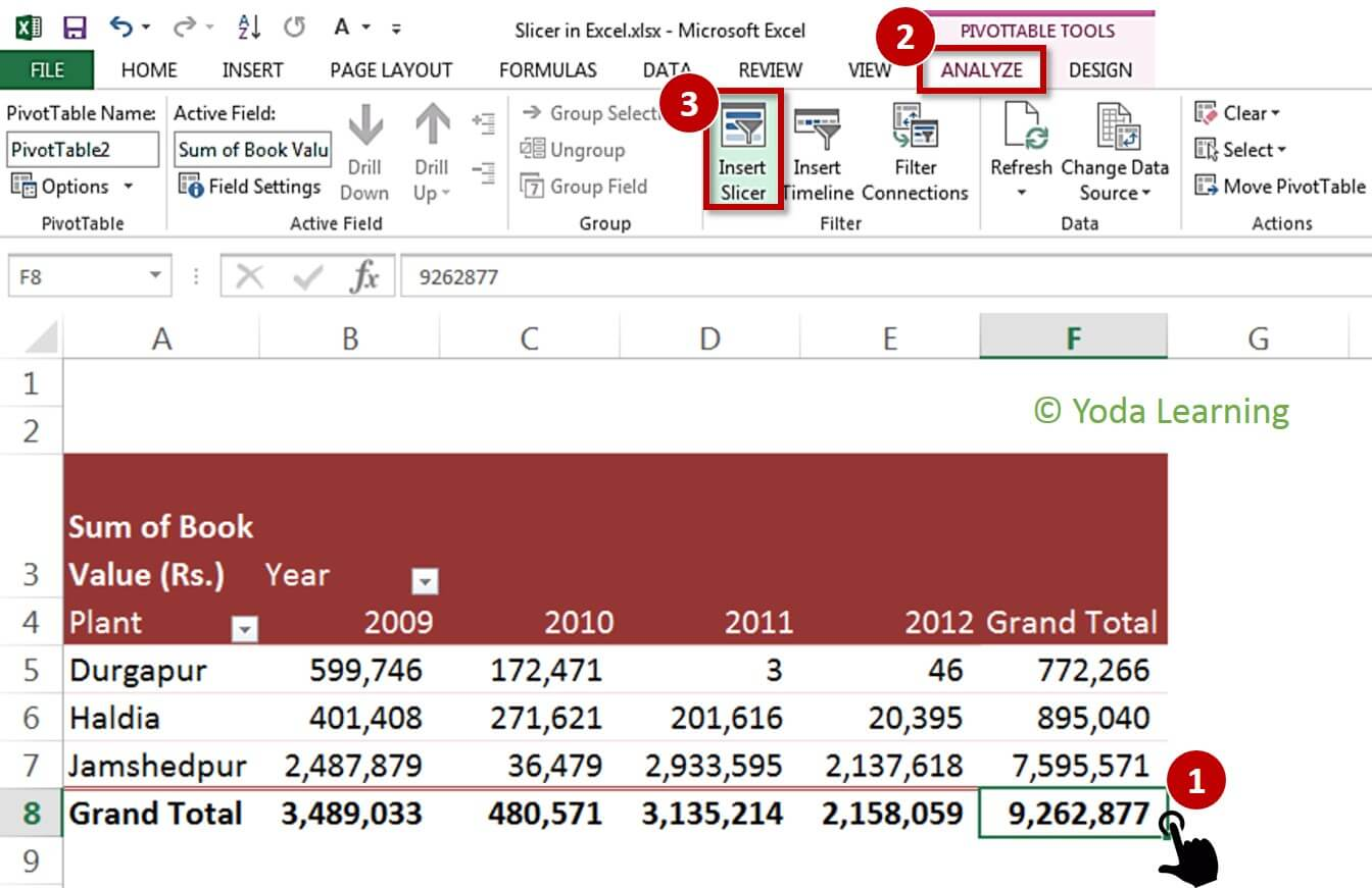 Learn Excel Pivot Table Slicers With Filter Data