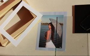 marco con foto