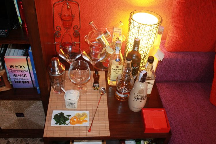 mueble bar camarera