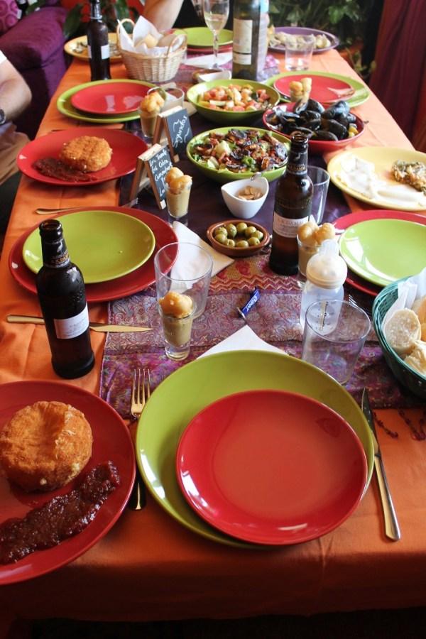 festín manjar comida almuerzo