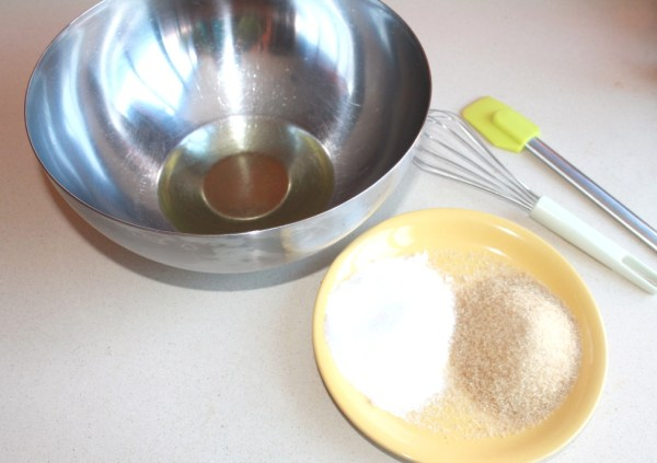 azúcar y aceite
