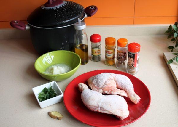 caldo de pollo marroquí