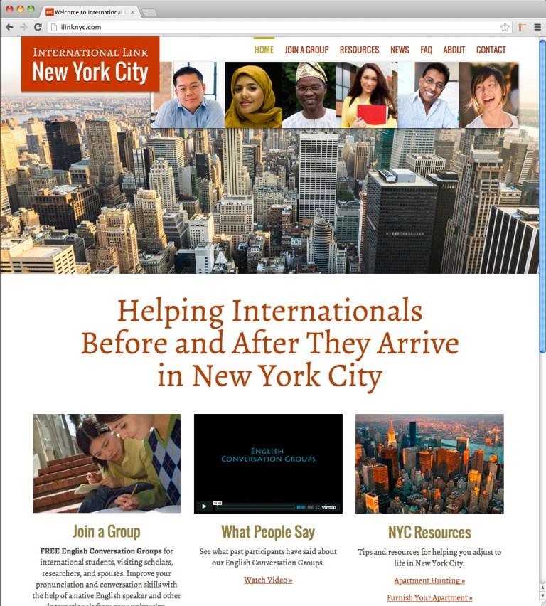 iLink Homepage screenshot