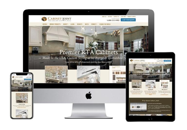 cabinet joint website design