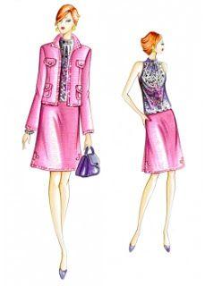 3 Patrones gratis de Marfy : falda, chaqueta y top
