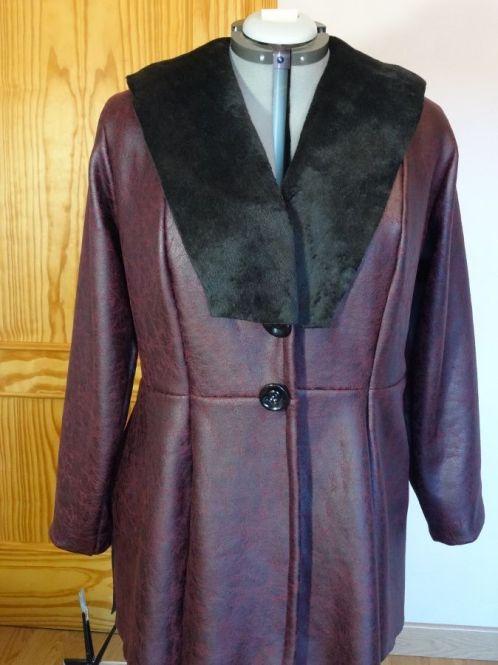 tutorial cómo coser un abrigo en una tarde utilizando un patrón de corte princesa