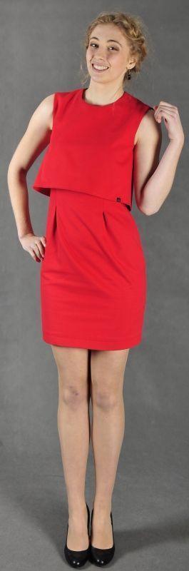 patrón de vestido con crop top