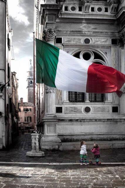 Italia patria mia nobile e cara terra