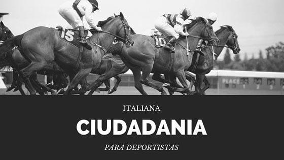 Deportistas Ciudadanía Italiana
